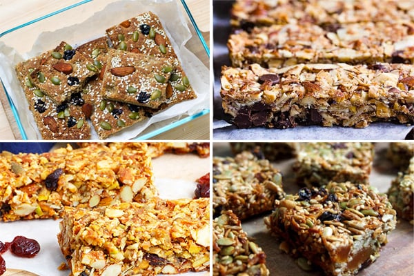 Best paleo granola bars