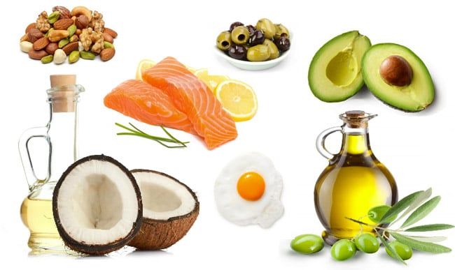 Paleo healthy fats