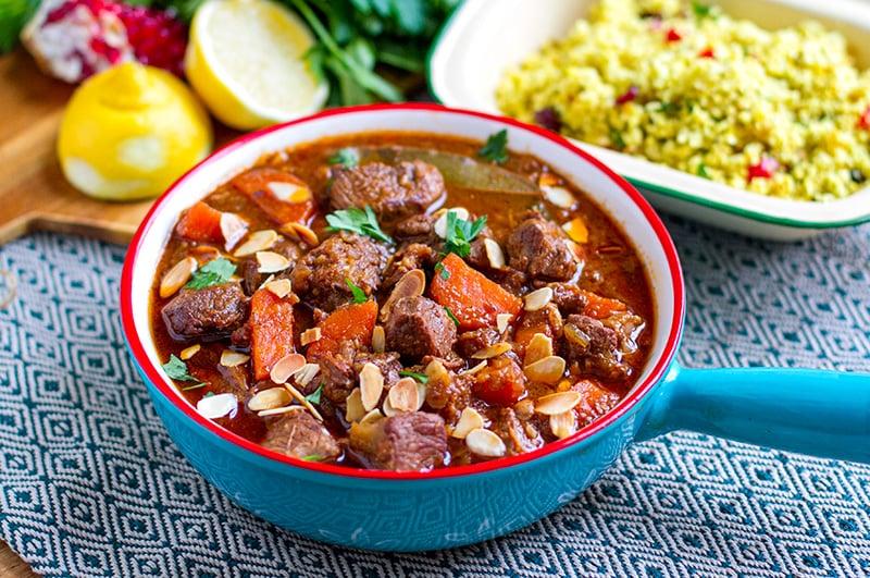 Moroccan Lamb Casserole Slow Cooker Recipe Paleo Gluten Free