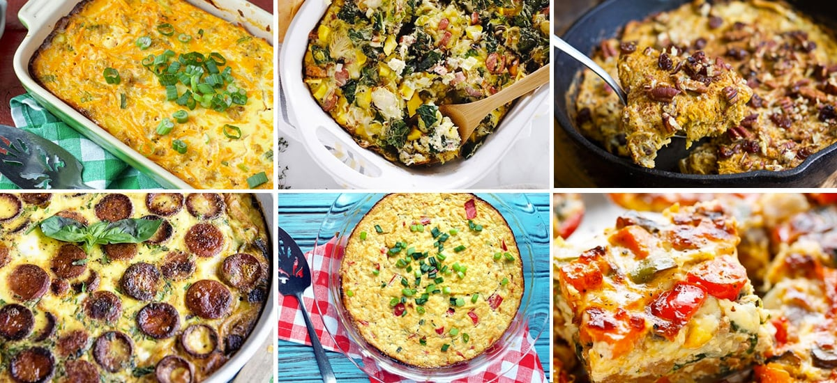 Paleo breakfast casseroles
