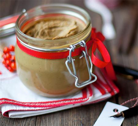 Chicken liver pate jars