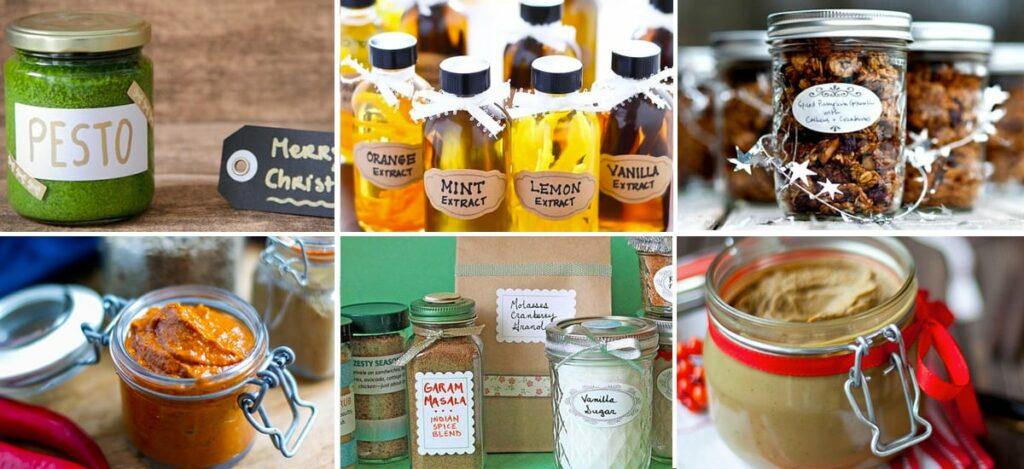 Homemade Edible Gift Ideas
