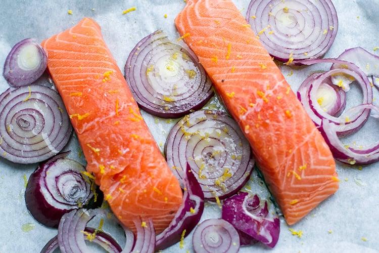 Paleo Teriyaki Sauce Baked Salmon