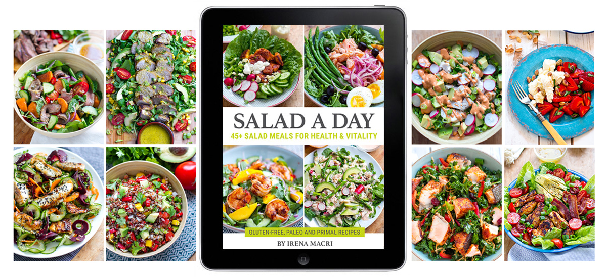 Salad A Day Cookbook