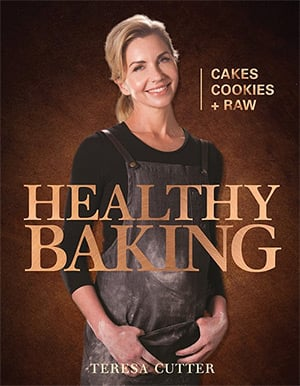 Healthy Baking cookbook cover