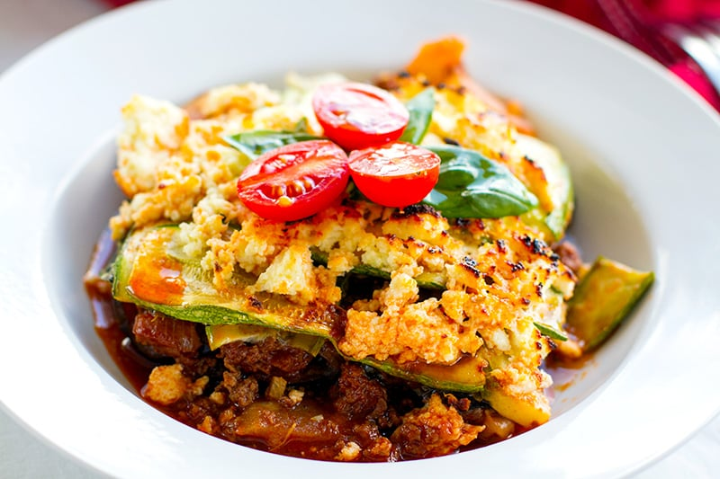 Healthy lasagna recipe (low-carb, gluten-free)