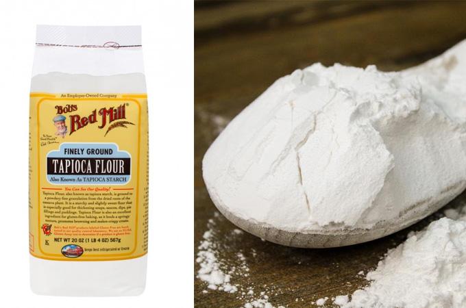 What is Tapioca flour?