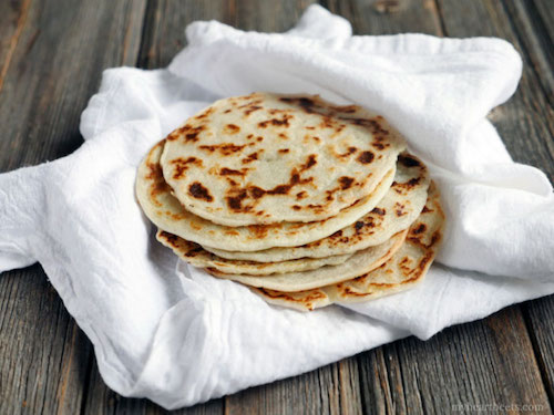 Tapioca Indian naan bread paleo