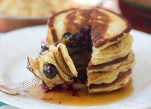 Paleo pancakes with tapioca flour