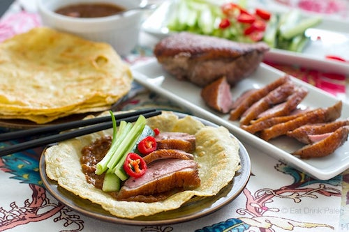 Paleo Chinese pancakes with tapioca