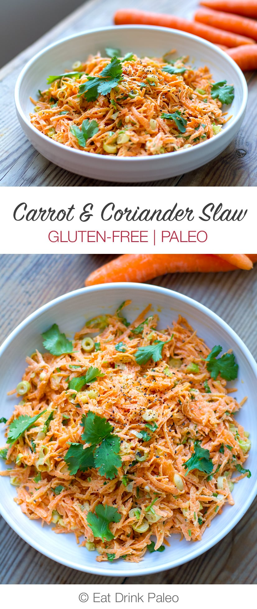 Carrot & Coriander Slaw Recipe