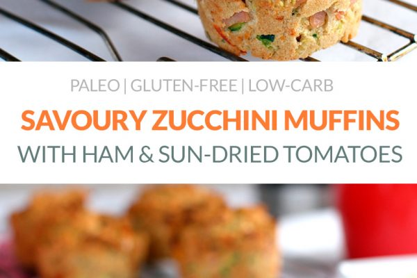 Paleo Savoury Muffins With Zucchini