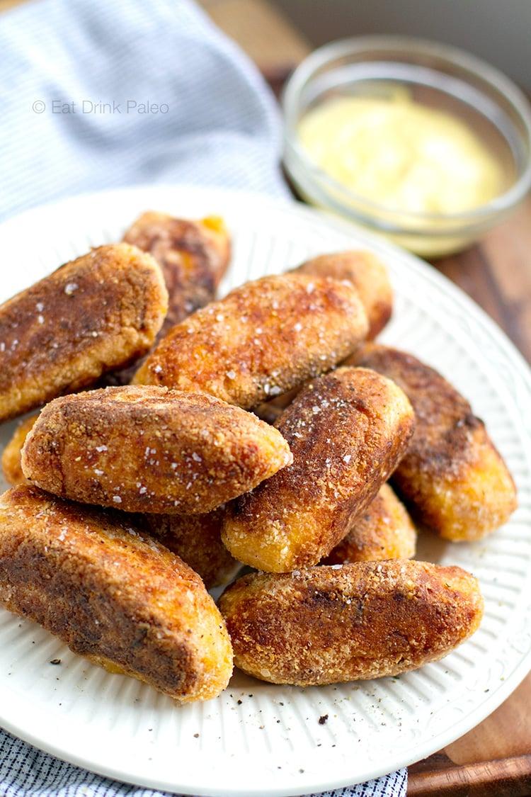 Paleo Sweet Potato Croquettes With Ham Hock