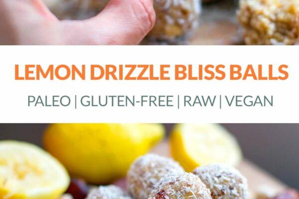 Lemon Bliss Balls (vegan, raw, paleo, gluten-free)