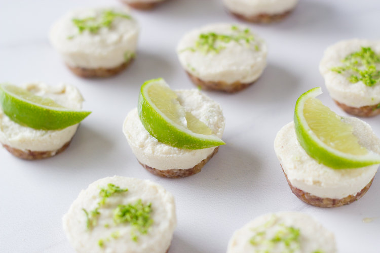 Paleo Key Lime Cheesecakes Mini