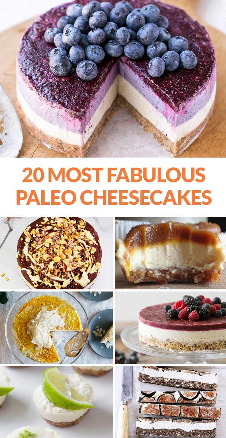 20 fabulous paleo cheesecakes