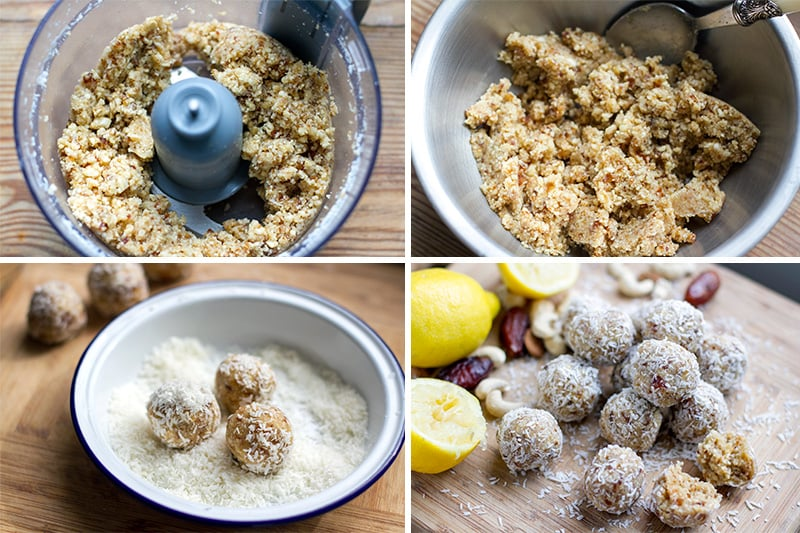 How to make bliss balls