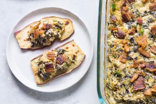 Paleo spinach and artichoke dip