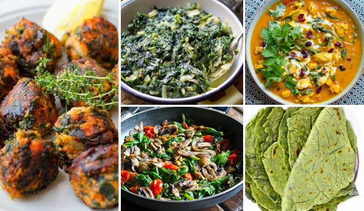 20+ Paleo Spinach Recipes To Boost Your Green Power
