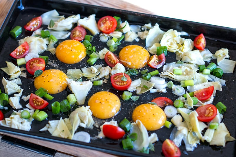 Sheet Pan Eggs