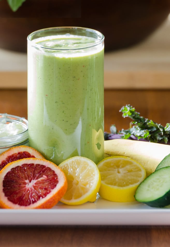 Green Goddess Glowing Detox Smoothie