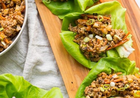 Paleo lettuce wraps