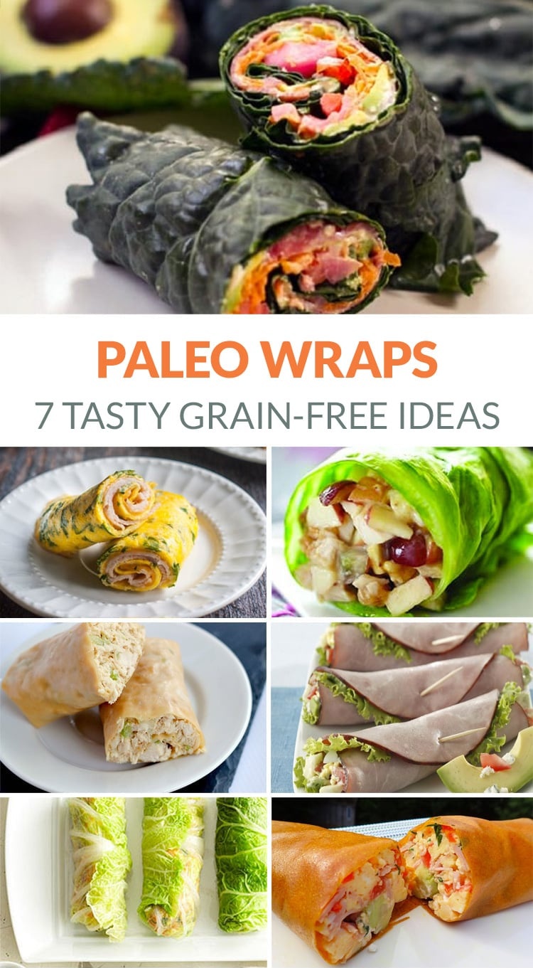Paleo Wraps - 7 Tasty Grain-free, Dairy-Free Ideas & Recipes