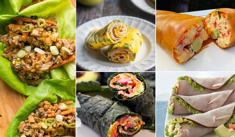 7 Tasty Paleo Wraps Ideas
