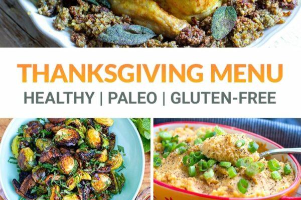 Gluten-Free & Paleo Thanksgiving Recipes