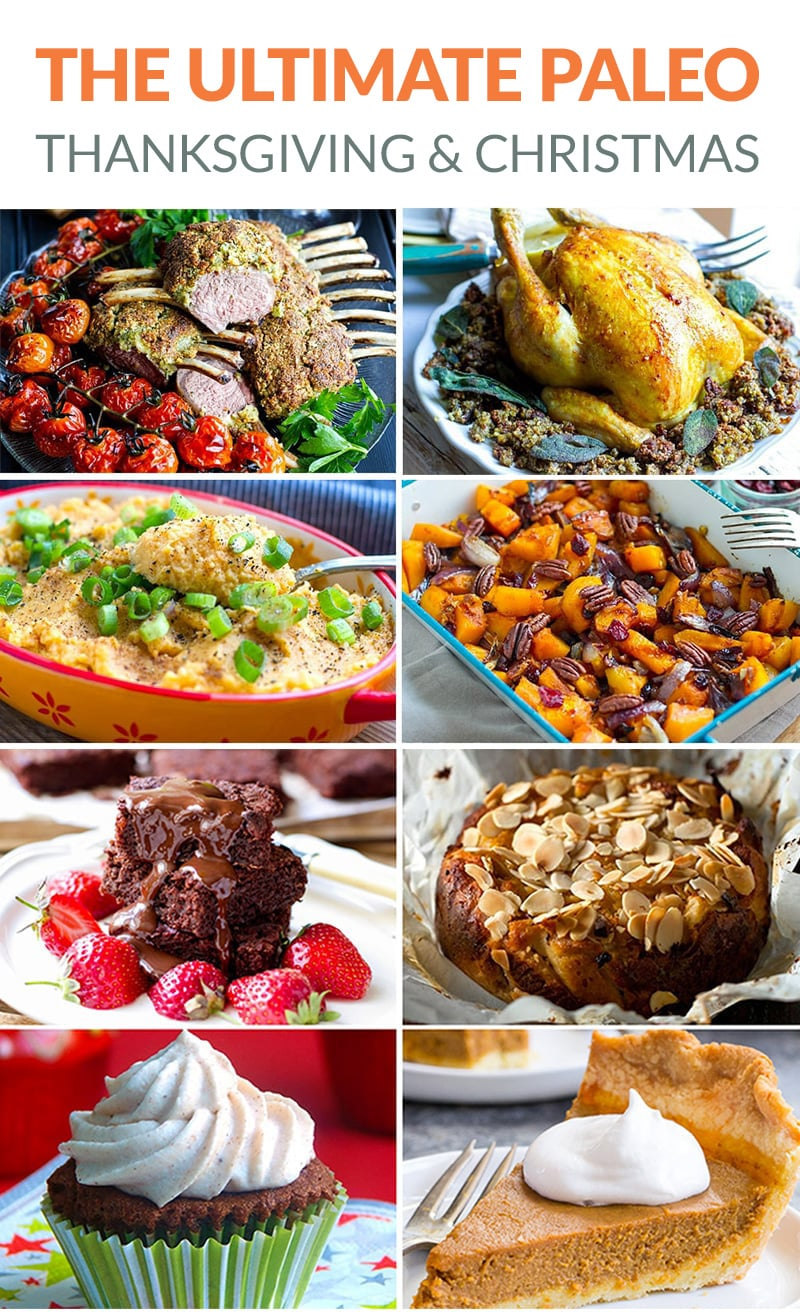 The Ultimate Paleo Thanksgiving Menu (also great for Christmas)