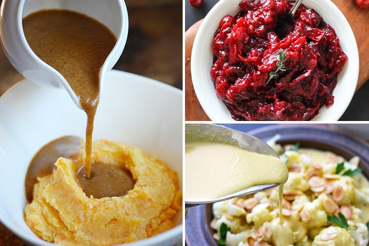 Paleo Thanksgiving Sauces & Condiments