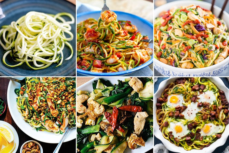 Paleo Zucchini Noodles Recipes