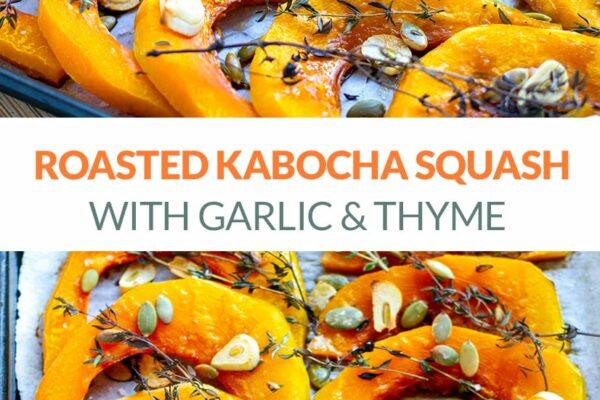 Roasted Kabocha Squash Recipe