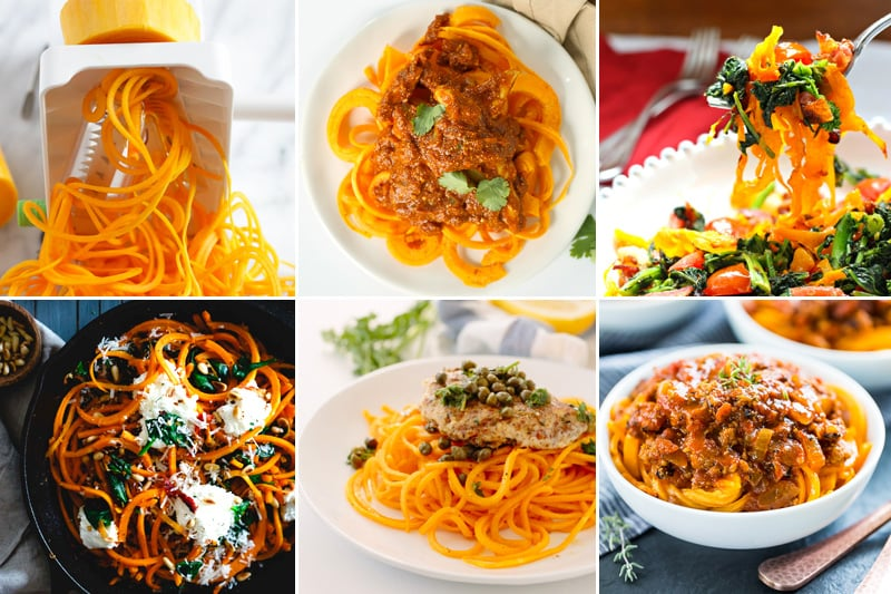 Butternut squash noodles recipes