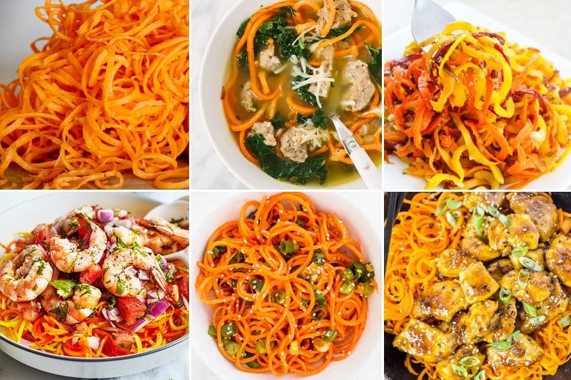 Paleo Carrot Noodle Recipes
