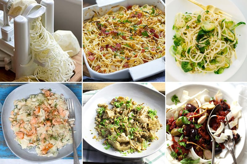 Paleo Celeriac Noodles & Pasta Recipes