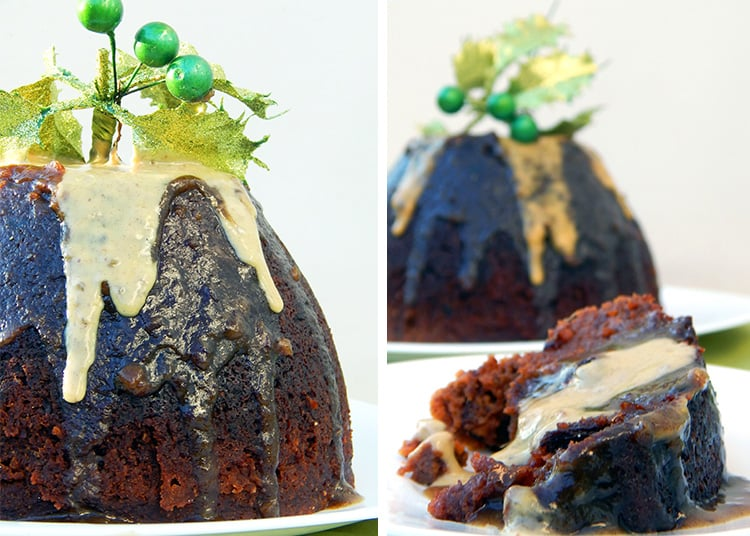 Paleo Christmas Pudding - Recipe From Mummy Made It A Healthy Christmas
