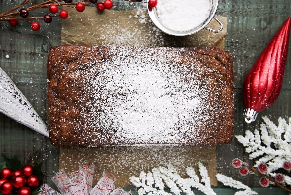 Gingerbread banana bread paleo