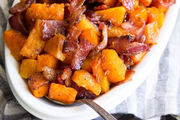 Bacon sweet potatoes