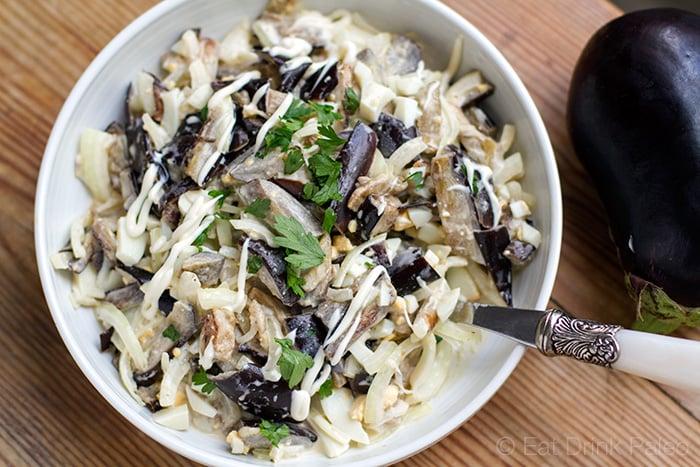 Creamy Russian Eggplant Salad