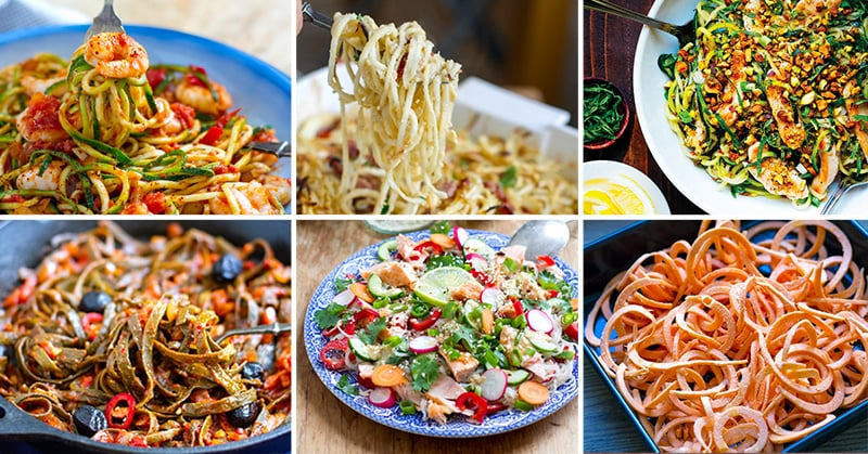 Paleo Noodles & Pasta Alternatives Recipes