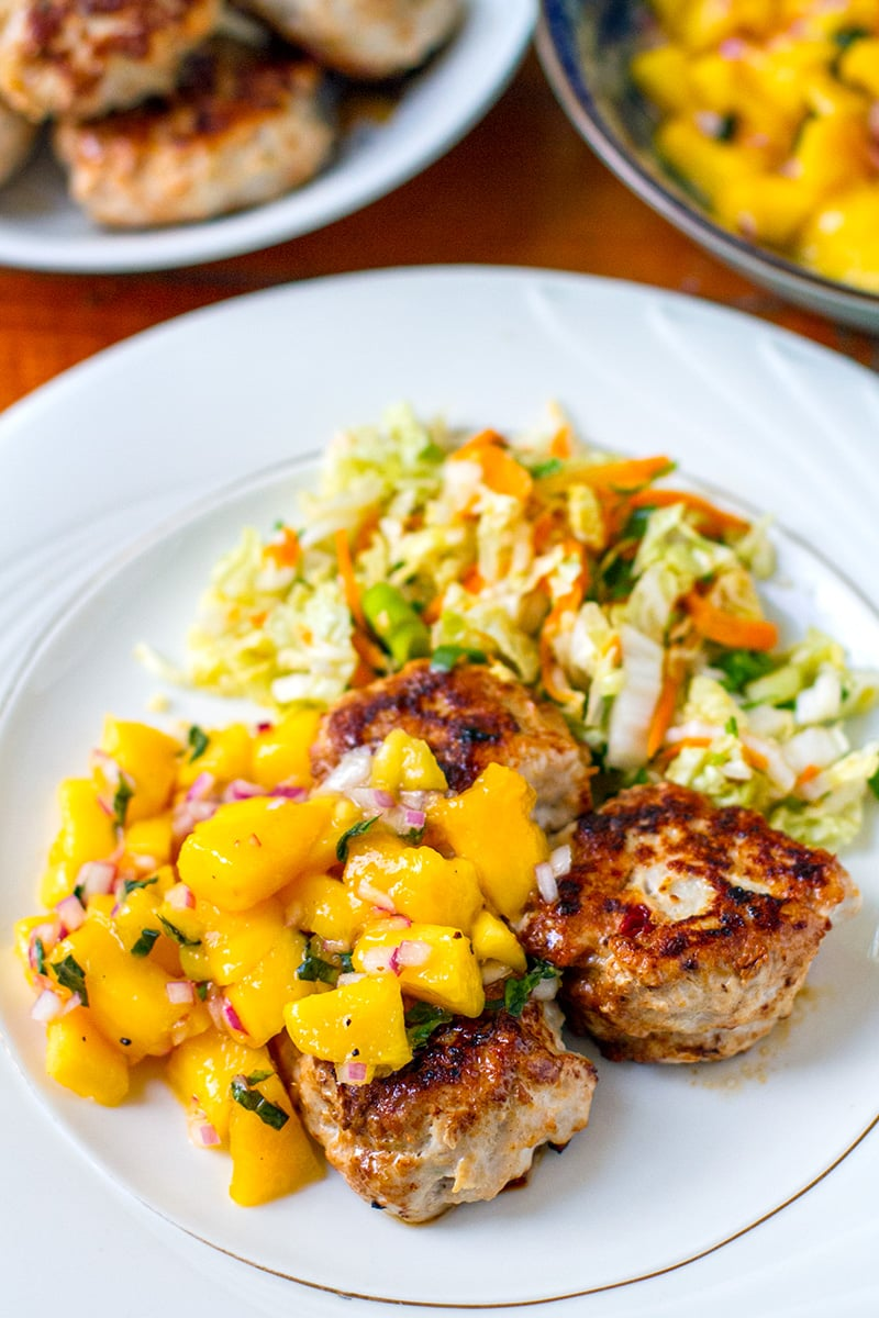 Mango Salsa For Fish Or Chicken