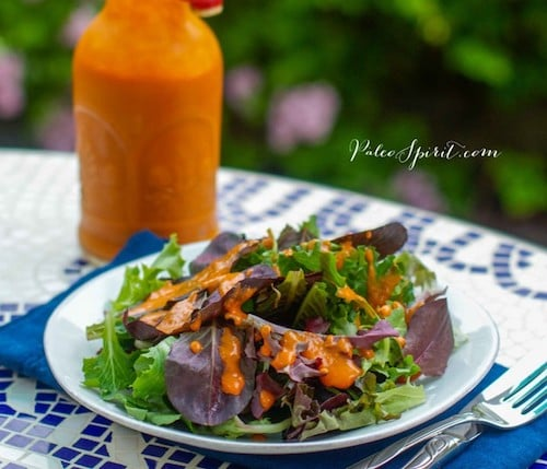 Paleo French salad dressing