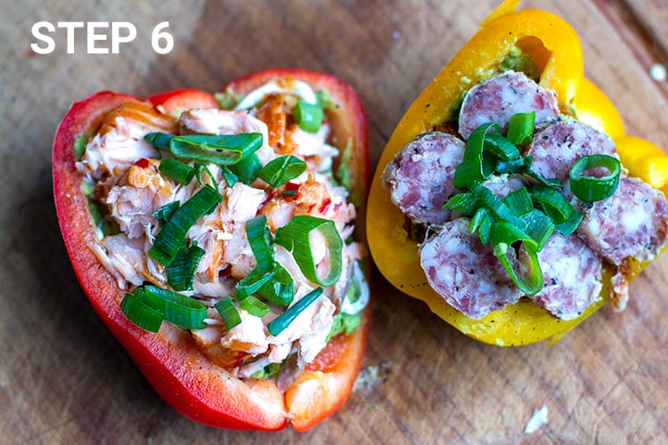 Bell pepper sandwich - step 6