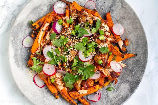 Paleo Kimchi Fries