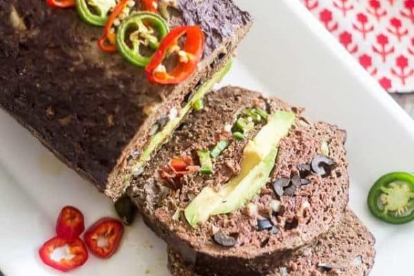 Paleo liver meatloaf
