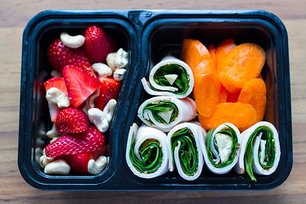 healthy bento snack box