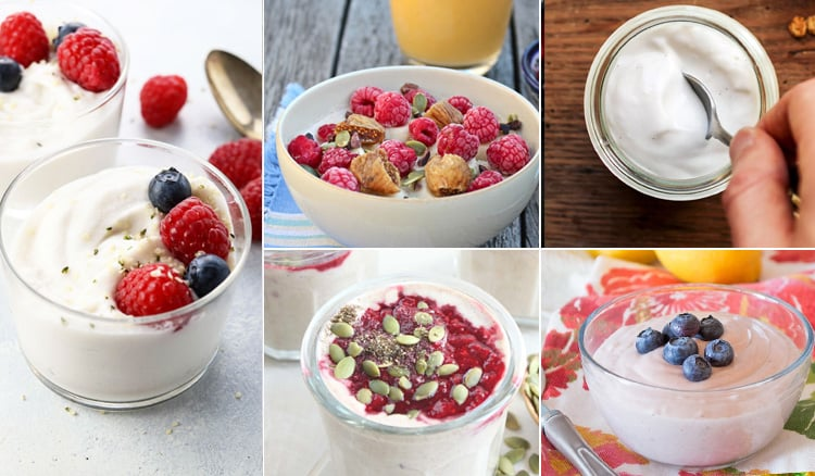 10 Paleo & Dairy-Free Yoghurt Recipes To Make At Home