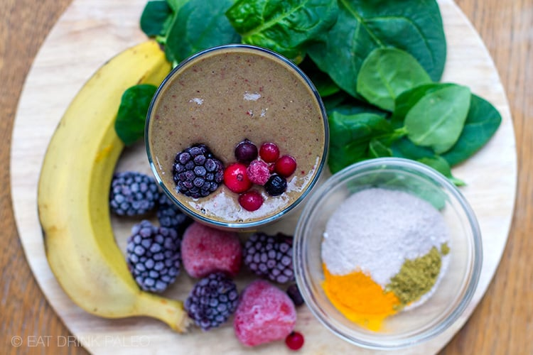 My Anti-Ageing Smoothie (Paleo, Dairy-Free, Whole30)