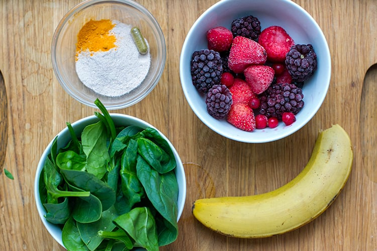 Beaty and Anti-Ageing Smoothie Ingredients